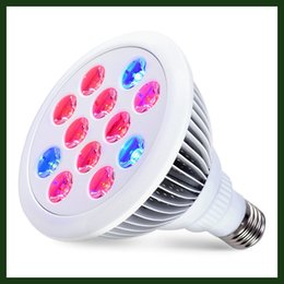 Wholesale LED Grow Lights Bulb For Indoor Plants Hydroponic W E27 Garden Growing Light Lamp for Organic Soil Mini Greenhouse
