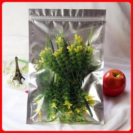 2017 bolsas de embalaje reutilizables 8 * 12cm Hoja de aluminio / bolsa de plástico transparente Sello Ziplock Bolsa de embalaje Bolsa de cierre con cierre de cierre de cerradura de cierre de bolsa bolsas de embalaje reutilizables en venta
