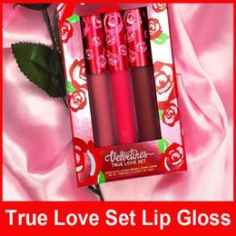 Wholesale LM Lip Gloss True Love Set Limited Version Red Kit LipGloss THE LIQUID TO MATTE LIPSTICK Cupid Saint Box Set colors set