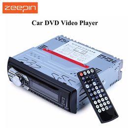 2017 mp3 mémoire lecteur 1gb Vente en gros 1563U 12V Car Audio Support stéréo USB SD Mp3 Player AUX DVD VCD Lecteur CD avec mémoire Breakpoint Lecture avec télécommande peu coûteux mp3 mémoire lecteur 1gb