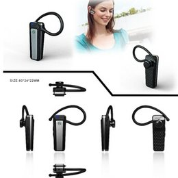 1080P Spy Auricular Bluetooth Auriculares Cámara Audio Video Recorder V22 Mini cámara oculta Espía con caja al por menor Dropshipping desde bluetooth auriculares cámara espía fabricantes