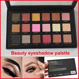 Wholesale HD Beauty Eyeshadow Palette colors Shimmer Matte Eye shadow Pressed Powder Eyes Makeup Cosmetics