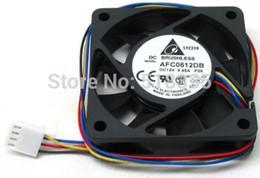 Wholesale Delta Electronics AFC0612DB F00 x60x15mm Cooling Fan RPM CFM dBA PWM pin connector