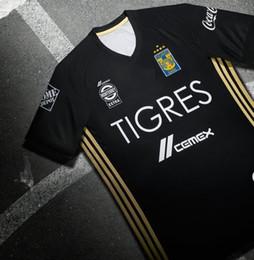 Wholesale LIGA MX Clausura Tercer jersey de de Tigres UANL star embroidery
