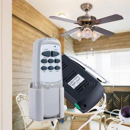 Gu4 conduit à vendre-Ventilateur commutateur de télécommande de lumières 110V 220V AC IR avec 3 vitesse et commande de 3 minuteries
