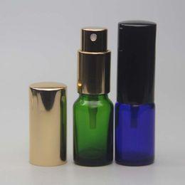 Wholesale 10ml Atomizer Refillable Pump Spray Bottles Perfume Bottle Glass Bottle Aromatic Bottle Empty Scent Bottle Packing Bottles