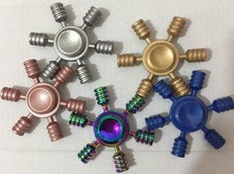 Finger Spinner Metal Alloying 5 colors PDQ retail box #P031