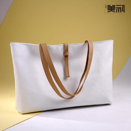 2016 new female bag fashion soft leather bag classic joker candy color pop single shoulder bag BaoChao