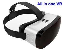 2016 mémoires vidéo HICCOO Tout en un VR Virtual Reality Headset 16 Go de mémoire 3D Movie Capteur de 360 degrés pour vidéo, jeu, panorama live show avec Wifi, Bluetooth mémoires vidéo promotion