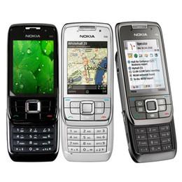 Wholesale Refurbished Original Nokia E66 Unlocked Slider Mobile Phone Symbian OS G GSM G WCDMA WIFI Bluetooth MP Camera Cell Phone