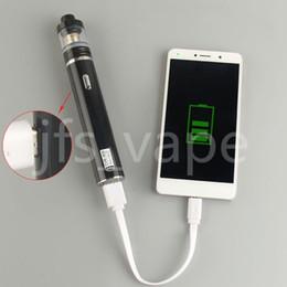 Mod baterías baratas en Línea-China cigarrillo electrónico barato directo TVR 30w mod mod TVR 30 USB passthrough 2200mah batería eciga para atomizador Vaporizador vapor