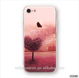 Hot lovely accessory phone case cover protective TPU case custom printing for iphone 7