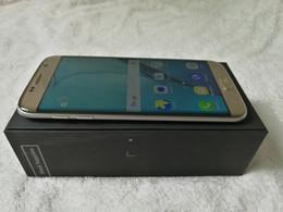 Wholesale Goophone S7 s7 bord courbé écran mtk6580 quad core pouces hd Android Go RM Go ROM métal cadre téléphone intelligent