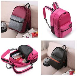 Wholesale Love Pink Women Backpack Secret Shoulder Bags Pink Love High Quality Cute Children School Bags VS For Teenagers Waterproof Lady Bags