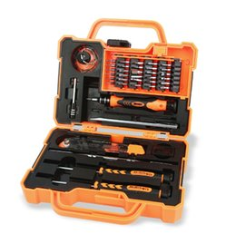 Wholesale 45 in Professional Electronic Precision Screwdriver Set Hand Tool Box Set Opening Tools for iPhone PC Repair Tools Kit