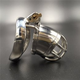 Device full length 60mm,cage length 40mm new chastity cage new cock lock chastity devices for men