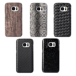 Texture grain serpentine pattern crocodile pattern Samsung Note5 cellphone case cover for Note 5 Galaxy S7 GalaxyS7 Edge phone back leather