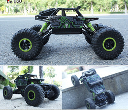 Wholesale WD Scale Brushed Rc Car Electric Rock Racer Desert Off Road Truck with GHz Radio System RTR