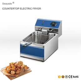 Wholesale Single Basket Potato Chips Deep Fryer Machine For Sale