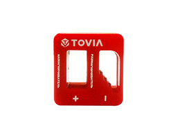 Tovia High Quality Magnetizer Demagnetizer Tool Red Screwdriver Magnetic