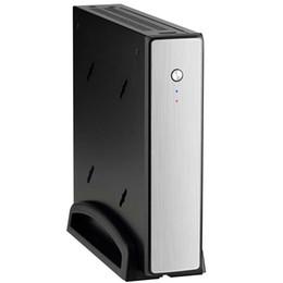 Carte intégrée à vendre-Mini ordinateur Quad Core Quad Intel H44 Boîtier métallique 4G DDR3 120GB SSD sans ventilateur Carte intégrée de bureau de bureau de bureau HTPC
