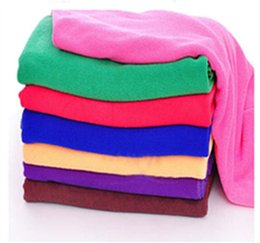 Wholesale FedEx Express Microfibre Cleaning Auto Car Detailing Soft Cloths Wash Towel Duster household cleaning tools organization gift