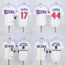 Wholesale Bad news BEARS Button Down Jersey DOUG REMER JOE COOP COOPER Men s Stitched BASEketball BEERS Movie Baseball Jerseys