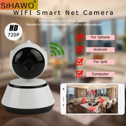 Safe Mini 720P WiFi Wireless Pan Tilt CCTV Network Home Security IP Camera IR Night Vision Home Surveillance Baby Monitor Camera