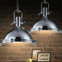 RH Benson Pendant Lamp Vintage Lighting Fixture Industry Style Loft Light Illuminate Kitchen Workplace Bronze Chrome Color LED Pendant Light