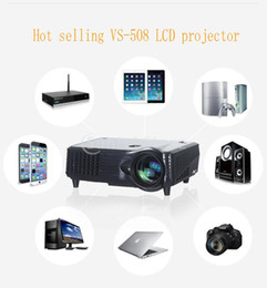 Promotion cinéma maison intelligente Vente en gros-VISIONTEK 3D Business LED Projecto 1080P Full HD théâtre à la maison 2000Lumen 5000Contrast TV AV VGA HDMI PC