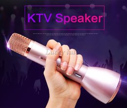 Wholesale K068 K088 Magic Karaoke Microfone K Song Portable Wireless Bluetooth Microphone With Bluetooth Speaker Power Bank Outdoor KTV