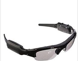 Wholesale DV Bluetooth MP3 Sunglasses Wireless MP3 Glasses HD Digital Video Mini Camera DVR Eyewear PC Video Recorder Outdoor Sports Driving