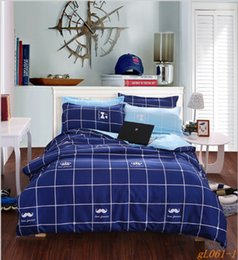 blue printing plant cashmere thicken sheet bedding bag free shipping