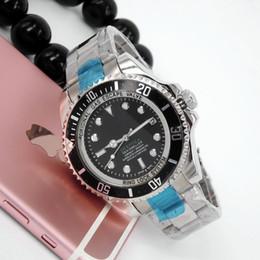 Machos negros en Línea-Relogio masculino mens relojes de lujo de la moda wist Dial Negro con calendario Bracklet plegable corchete maestro masculino 2016 regalo reloj de papel