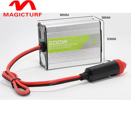 1pcs Car Power Inverter Converter DC 12V to AC 220V Modified Sine Wave Power with USB 5V Output car styling&car charger 200w