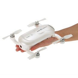 Promotion 4k caméra drone Original ZEROTECH DOBBY Drone caméra Wifi FPV Quadcopter Selfie Smart Drone Pocket RC avec 4K 13MP Caméra HD 3 axes Gimbal GPS Mini Drones
