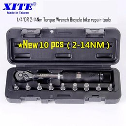 Wholesale Best quot DR Nm Torque Wrench Bicycle bike repair tools kit set bike repair spanner tool screwdriver ratchet wrench set