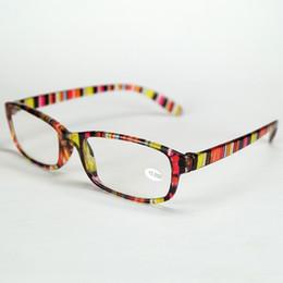 7 Colors Resin Reading Glasses Plastic Full Frame Eyeglasses Ligher And Cheaper Strength For Older Peoples