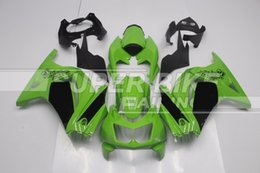 Wholesale New ABS Injection Fairing Kits Fit For kawasaki Ninja250r EX250 ZX250R R Bodykit green black