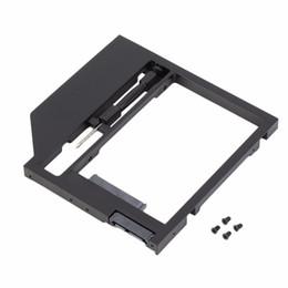 Descuento una caja portadiscos disco Venta al por mayor HDD Caddy Disco duro de disco SATA caso con destornillador para PC portátil