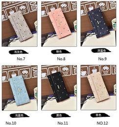Wholesale New Women s Fashion Long Wallets Euro Designs Plaid Leopard Coin Purse Street Style Clutch Bags Phone Bag Bank Card Bag