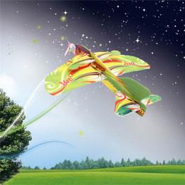 2017 planeadores de bricolaje Venta al por mayor- Nueva Mini Espuma Niños Mano Lanzando Aviones Aeroplano Glider Juguetes DIY Juguetes Educativos planeadores de bricolaje oferta