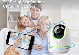 WiFi Wireless 720P WiFi Caméra IP Caméra de sécurité bidirectionnelle Baby Monitor Caméra de sécurité panoramique Easy QR CODE Scan Connect à partir de sécurité facile fournisseurs