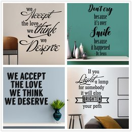 Mix Order Dr Suess Love Life Quote Wall sticker Inspirational Wall Decal Vinyl Removable Quotes Vinyl Letters Wall Words Art Home Decor