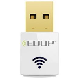 Wholesale EDUP AC1619 Dual band G G AC600Mbps Mini Wireless USB Adapter Antenna Dongle Realtek8811AU Dual Band USB Wifi Adapters DHL