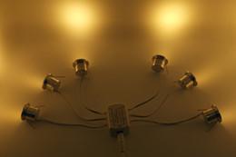 18pcs 1W 12V DC mini conduit plafond Down Light avec transformateur et câbles 80Ra 110Lm Home Bed Salle de manger l'éclairage de cuisine à partir de dc a mené la lumière au plafond fournisseurs