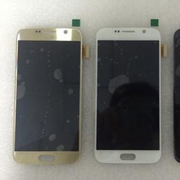2016 écran tactile pour samsung Écran LCD de haute qualité avec écran tactile Digitizer blanc bleu or couleur pour samsung galaxy s6 g920 universel abordable écran tactile pour samsung