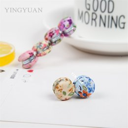 XT95 12pcs lot wholesale Double-faced lovely flower new magnet brooches alloy especially broches hijab accessories brooches for women