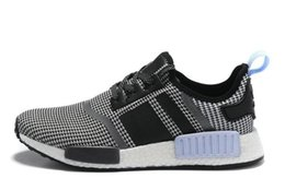 2019 NMD Runner Primeknit XR1 Caged Black Grey Triple White Men Running Shoes Sneakers Fashion Sports Shoes Size 36-45