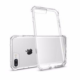 For Apple iPhone 8   8 Plus   7 Plus   7 Hybrid TPU Soft Bumper Frame Clear Crystal Back Cover For Google Pixel Pixel XL